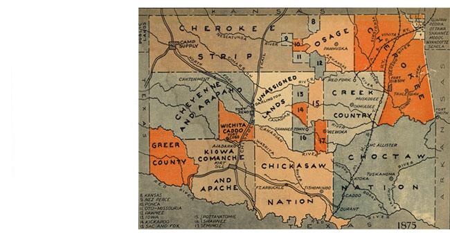 Rushes to Statehood: The Oklahoma Land Runs - National ... on map okc ok, google maps newkirk ok, counties in oklahoma city ok, downtown oklahoma city ok, city of broken arrow ok,
